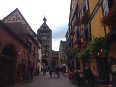 Colours in Riquewihr #Alsace