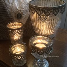 Romantic candles in my shop...by Silvia Hokke