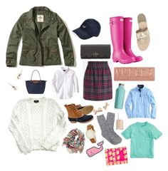 """""""read d •preppy christmas gift guide•"""" by preppy-ginger-girl ❤ liked on Polyvore featuring Hollister Co., J.Crew, Longchamp, A.P.C., L.L.Bean, Kate Spade, Corkcicle, Vineyard Vines, Urban Decay and Essie"""