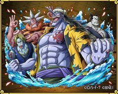Arlong One Piece, One Piece Chapter, One Piece World, Types Of Ocean, Sir Crocodile, Fish Man, Anime Tattoos, Are You Happy, Dreaming Of You