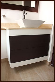 Acabados & Formas Vanity, Bathroom, Bathroom Furniture, Shapes, Cooking, Home, Dressing Tables, Washroom, Powder Room