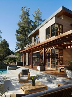 World of Architecture: Modern Dream Home Design, California Houses Architecture, Residential Architecture, Interior Architecture, Paz Interior, Dream Home Design, Modern House Design, My Dream Home, Dream Homes, Contemporary Design