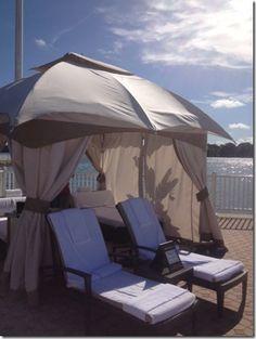 Cabana at Disney's Contemporary Resort Disney Contemporary Resort, Pool Cabana, Outdoor Furniture, Outdoor Decor, Sun Lounger, Vacation, Home Decor, Chaise Longue, Vacations