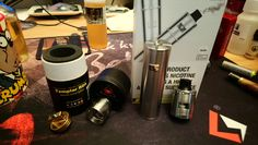 Just in... AugVape Templar RDA and from Vapour ME UK the VapWiz Pollux 25 Kit by UD
