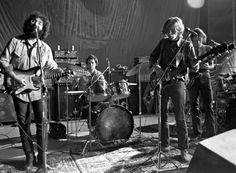 "The Grateful Dead in San Francisco, in 1970. ""Our audience is like people who like licorice,"" Jerry Garcia said. ""Not everybody likes licorice, but the people who like licorice really like licorice."" View article on the New Yorker!"