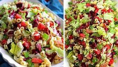 Search result for sprouts. easy and delicious homemade recipes. See great recipes for Chicken salad with veggies and sprouts too! Pasta Salad Italian, Sprouts Salad, Sprout Recipes, Food Inspiration, Low Carb Recipes, Cobb Salad, Potato Salad, Salads, Food And Drink