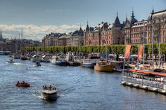 Stockholm and New York.. latest post on the blog!  Stockholm Summer Life by Danilo Poccia, via Flickr