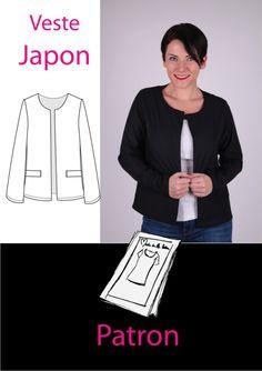 veste Japon de made in me couture