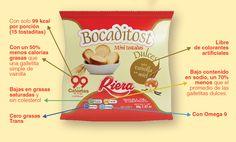 Porque sabemos que no es fácil encontrar un producto saludable para acompañar unos ricos mates... nosotros lo desarrollamos para darte el gusto! Mini Tostadas dulces con sabor Vainilla con Miel www.riera.com.ar