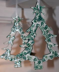 Christmas Tree Ornament - Ceramic