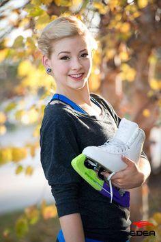Gracie Gold & Edea skates