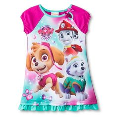 Toddler Girls' Paw Patrol Nightgown