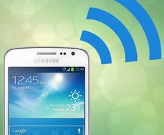 Samsung said it is developing Wi-Fi that is five times faster than the maximum possible speed of what's available today.