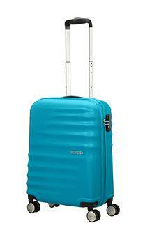 Wavebreaker 4-wheel cabin baggage Spinner suitcase 55x40x20cm Summer Sky
