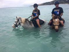 Horseback riding on the beach. SO romantic!