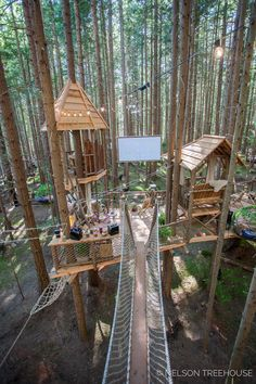 Tree house with projector screen - Nate - house screen - B . - Tree house with projector screen – Nate – house screen – B …. Tree house with projector screen – Nate – house screen – B … Cubby Houses, Play Houses, Treehouse Masters, Treehouse Kids, Treehouses For Kids, Tree House Plans, Diy Tree House, Tree House Interior, Tree House Designs
