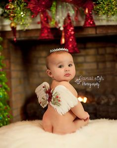 Christmas Angel Wings for Baby- Excellent Christmas Photo Prop- Low WW Shipping sur Etsy, $26.74 CAD
