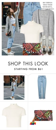 """""""2371. Street Style"""" by chocolatepumma ❤ liked on Polyvore featuring Oris, Topshop, Alice + Olivia and Golden Goose"""