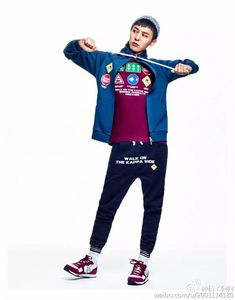 G-Dragon's got that adorable swag in 'Kappa' athletic wear | allkpop.com
