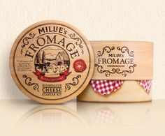 Millie's Fromage on Behance | by Monique Pilley