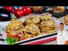 Con esta receta de berenjena vas a alucinar, a mi me encanta. - YouTube Tempura, Eggs, Meat, Chicken, Cooking, Breakfast, Recipes, Youtube, Mexico