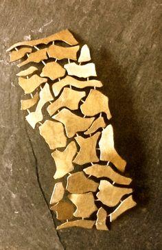 Joya de autor. Natura de Vaneski . brazalete, trabajo artesanal