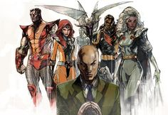 X-men Team Gold by Peter-v-Nguyen on DeviantArt