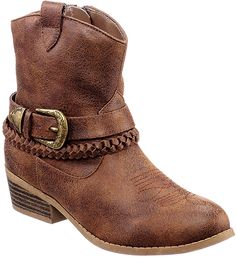 Rampage Girls Jubilee Western Ankle Boots $9.99 (stagestores.com)