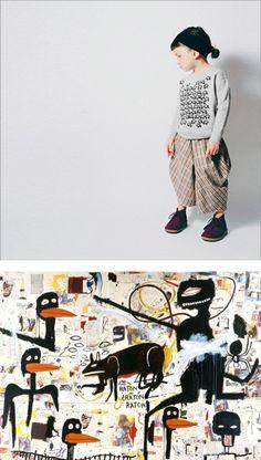 babylady + basquiat