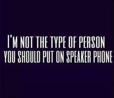 Joy tells me this all the time. Hahahah. —JK