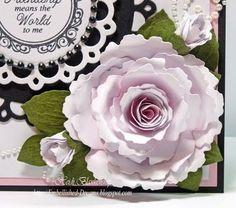 Spellbinders Spiral blossom 1 tutorial by Heidi Blankenship