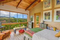 Quiet Hilltop Kauai Property with Gorgeous Mountain Views