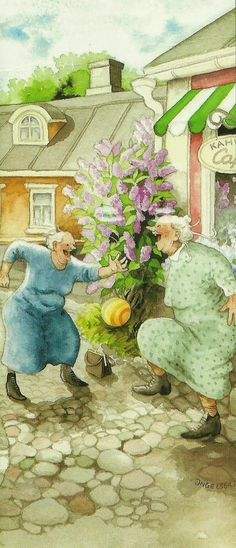 41 ideas funny illustration inge look Old Lady Humor, Funny Illustration, Pics Art, Whimsical Art, Old Women, Getting Old, Illustrators, Cool Art, Funny Pictures