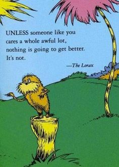 Right up there in my favorite Dr. Seuss quotes. This might be a double-pin but that's how much I love it!