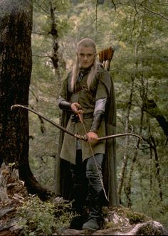 Legolas Greenleaf. His beautiful bow! I always wondered why he never seems to run out of arrows.