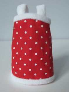 Dress for Lati Yellow Pukifee red polka dot cute 1/8 BJD dollfie