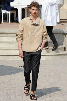Corneliani Spring 2015 Menswear Collection Slideshow on Style.com