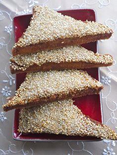 Sesame Prawn Toast by Victoria Glass