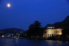 Como e il suo lago di sera