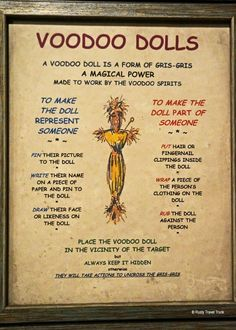 You Do Voodoo In New Orleans: The Historic Voodoo Museum - Rusty Travel Trunk Hoodoo Spells, Magick Spells, Magick Book, Voodoo Doll Spells, Voodoo Dolls, Witch Spell Book, Witchcraft Spell Books, Voodoo Magic, Voodoo Hoodoo