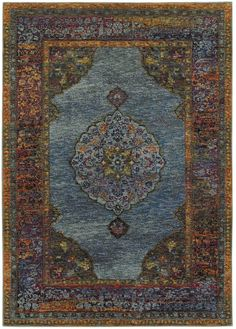 Oriental Weavers Andorra 7139A Blue/Multi