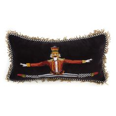 MacKenzie-Childs - Nutcracker Lumbar Pillow