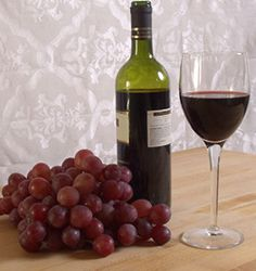 Red Wine Chemical, Resveratrol, A Strong Antioxidant And Cancer Fighter