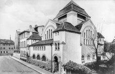 Die neue Synagoge in der Bleichstraße in Darmstadt, nach 1906