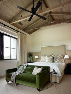 transitional bedroom by Jennifer Robin Interiors