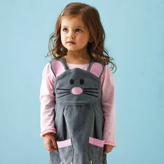 Mouse Play Dress by Wild Things Funky Little Dresses