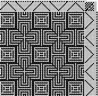Afbeeldingsresultaten voor weaving draft plaited twill