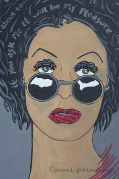 Oh...Cougar, what wickedly delicious thoughts are running through her mind. Artwork 4 $ale @ www.mmlpaintings.com.
