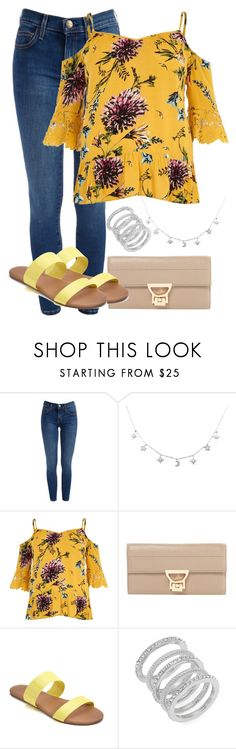 """""""Summer Style"""" by madisoncorell ❤ liked on Polyvore featuring River Island, Coccinelle, LC Lauren Conrad and Cole Haan"""