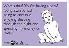 Babies vs Sleep & Money